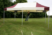 6m x 3m Industrial Pro 50 Pop Up Gazebo (Inc: Top + Frame Only)